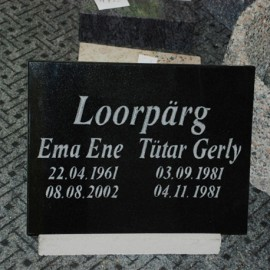 Grave Tile
