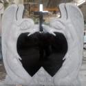 PG 16 Ängel ( gravsten på kviberg kyrkogården )